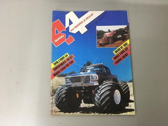 Revista 4x4 & Pick-up N.o 04 - Abril 1983