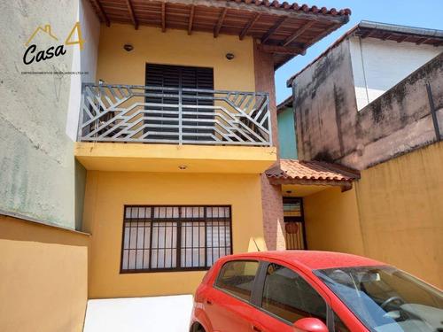 Sobrado Com 3 Dormitórios À Venda, 127 M² Por R$ 415.000,00 - Jardim Matarazzo - São Paulo/sp - So0600