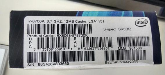 Processador I7 8700k