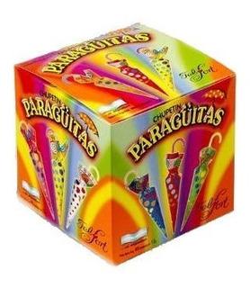 Paraguitas Chupetin Chocolate Felfort Caja Por 40 Unidades