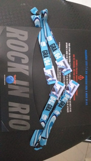 04 Ingressos Rock In Rio Inteira Dia 4 (dia Iron Maiden)