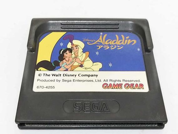 Aladdin Game Gear Original Japonês Funcionando
