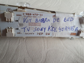 Kit De Barra De Led Original Tv Sony