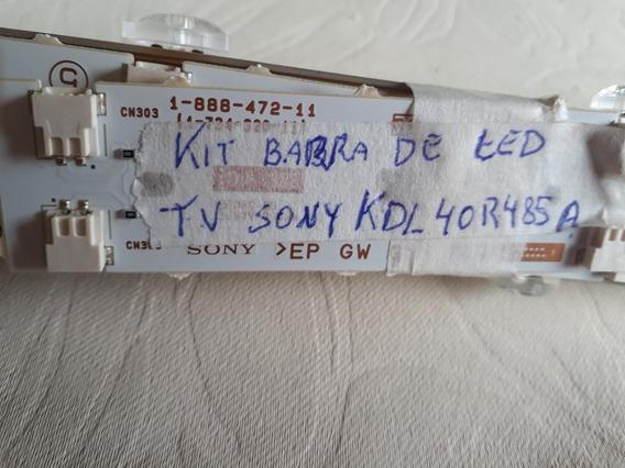 Kit De Barra De Led Original Tv Sony