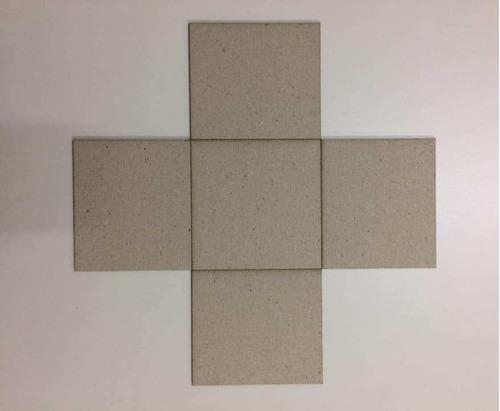 Base P/ Caixa Explosão 25,5x25,5x11,5  P/ Revestir (5 Pçs)