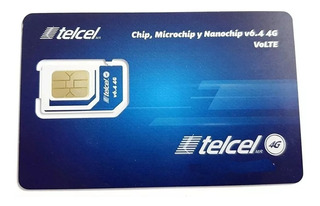 Kit De 50 Chip Amigo Express Telcel Cdmx Region 9 (55