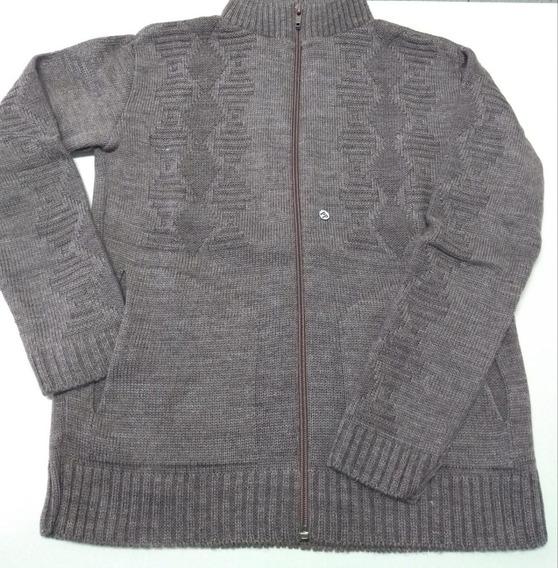 Jaqueta De Menino Zíper Tricot Com Bolso Inverno Lançamento