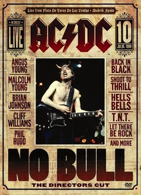 Dvd Acdc No Bull Live In Madrid