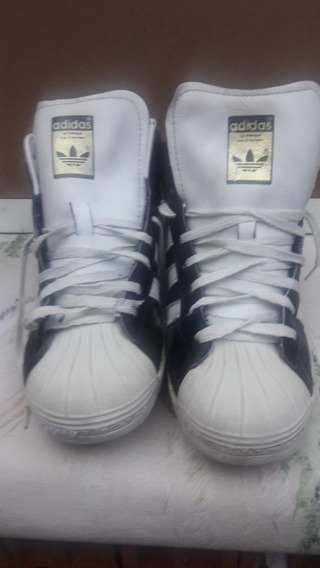 Sapatillas adidas Negras Con Franja Blancas N 39,5