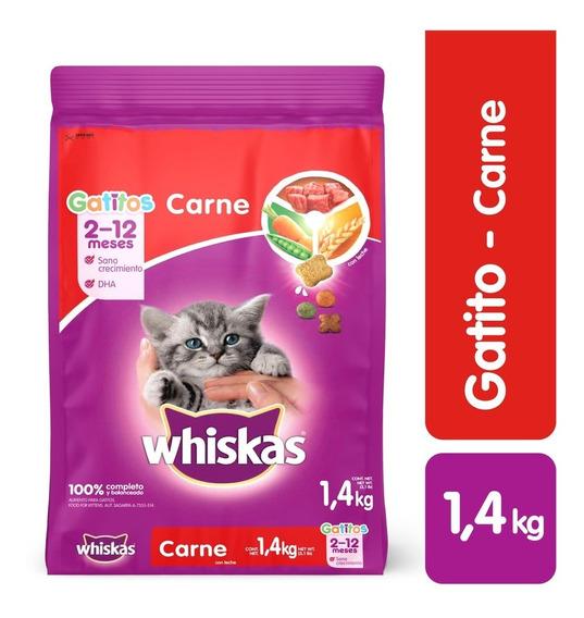 Comida Gatos Whiskas Gatitos1,4