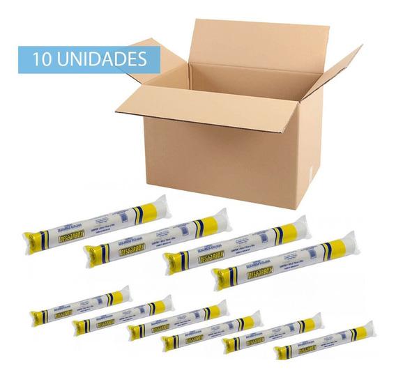 Papel Lençol Bobina 70cmx 50 Metros Caixa 10 Unidade Premium