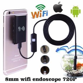 Camera Usb Inspeção Endoscópio Android 5m Sem Fio Wifi 8mm