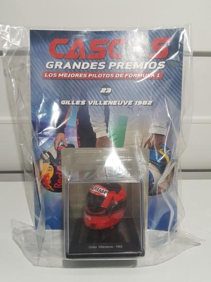 Casco Grandes Premios F1 - N23 Gilles Villeneuve 1982
