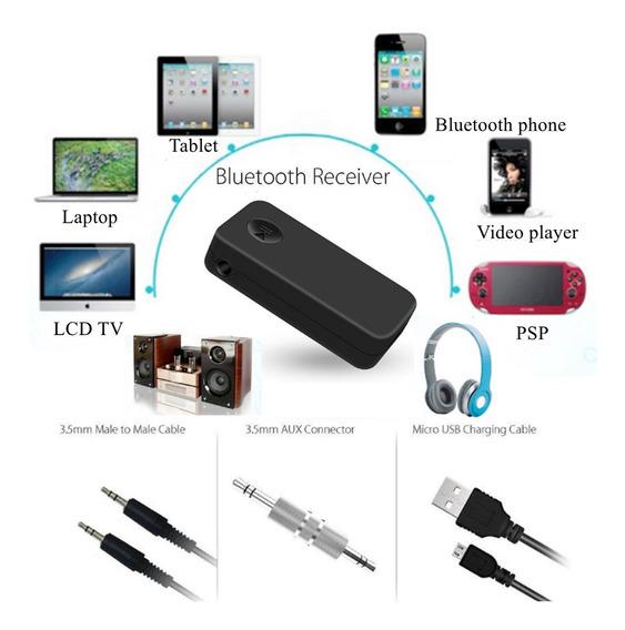 Wirless Bluetooth Handfree Kit 3.5mm Aux Streaming Adaptador