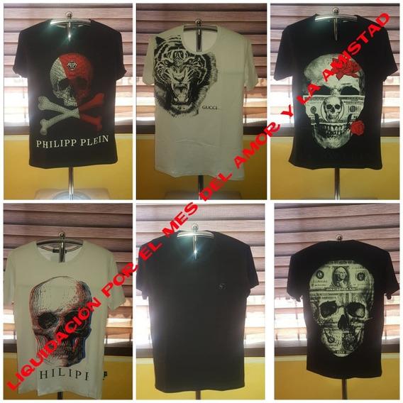Camisetas Philipp Plein Excelente Precio Por El Mes Del Amor
