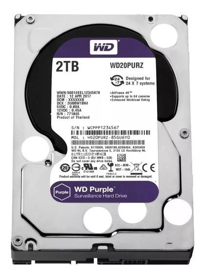Hd 2tb W D Purple
