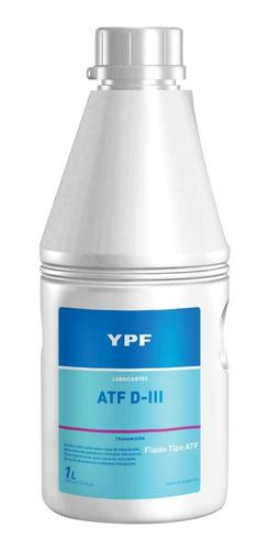 Imagen 1 de 5 de Lubricante Ypf De Direccion Hidraulica Dexron Iii