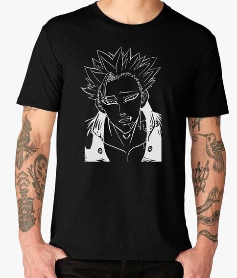 Hermosas Camisas Nanatsu No Taizai Negras Diseños Originales