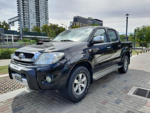 Toyota Hilux 3.0 I Srv Cab Doble 4x2 Cuero 2010