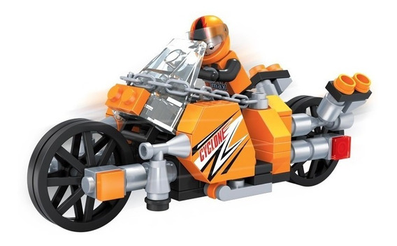 Brinquedo Para Montar - Super Moto - 118 Peças