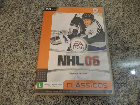 Jogo Nhl 2006 Original Pc Game-cd