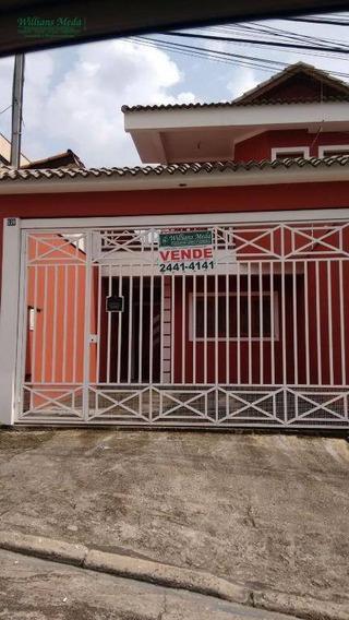 Sobrado Residencial À Venda, Jardim Leila, Guarulhos. - So0809