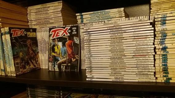 Lote 10 Tex Globo E Mythos! Quase Todos Os Números!!!