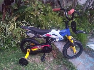 Bicicleta Bici Moto Cross Marca X-terra Rodado 12