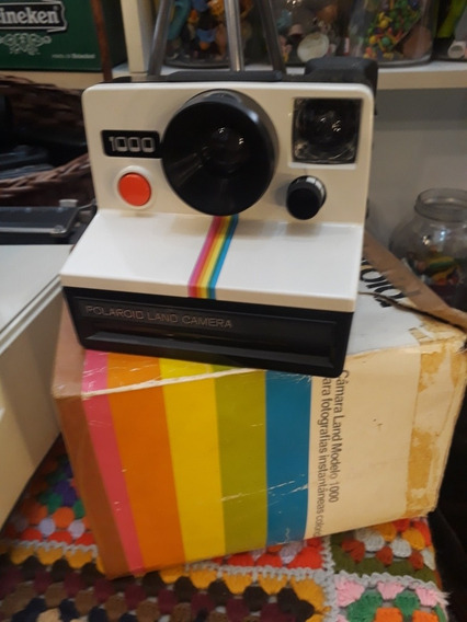 Camera Polaroid Land 1000 Caixa Original