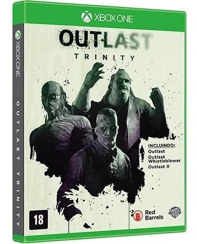 Outlast Trinity Xbox One Disco Fisico - Promoção