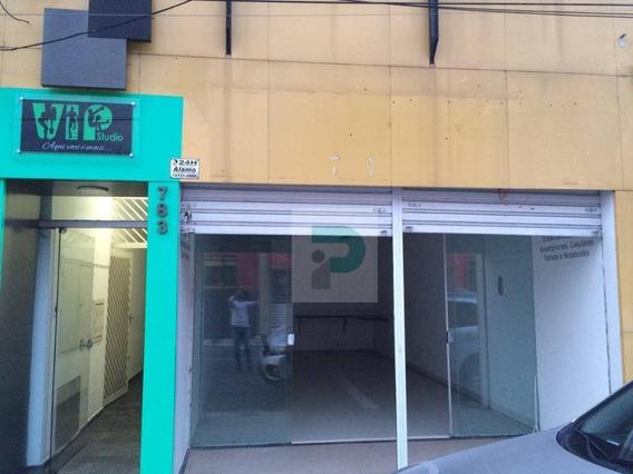 Alugo Salão Comercial No Centro Em Mogi Das Cruzes - Sl0005