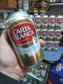 Cerveza Carta Blanca Importada México, Ret X Caballito