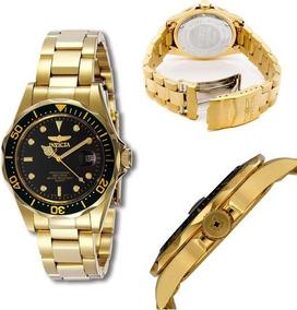 Relógio Invicta Pro Diver 8936 Banhado À Ouro 23k
