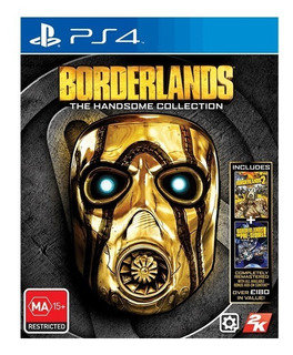 Ps4 Borderlands The Handsome Collection- Playstation 4