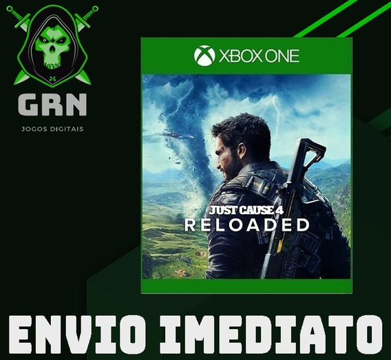 Just Cause 4 Reloaded - Xbox One - Mídia Digital
