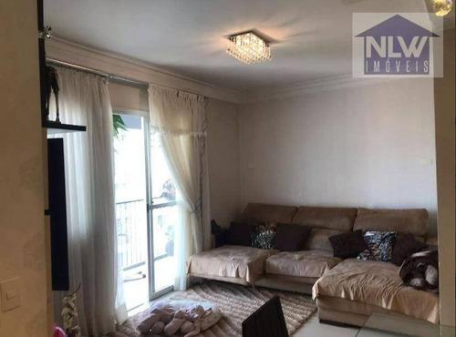 Apartamento Com 3 Dormitórios À Venda, 78 M² Por R$ 570.000,00 - Penha - São Paulo/sp - Ap1494