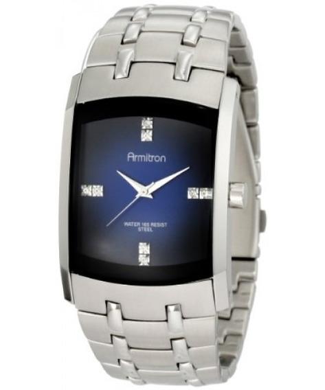 Reloj De Hombre De Acero Inoxidable Armitron 204507dbsv C