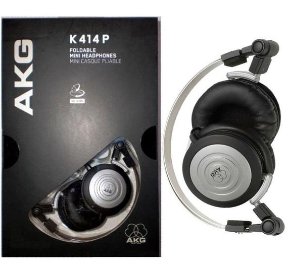 Fone Ouvido Akg K414 K414p Profissional Original + Bolsa
