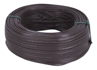 Cable Duplex 2x18 Cafe 100mt Centelsa