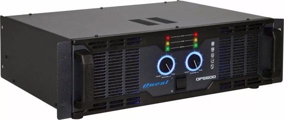 Amplificador Potência Oneal Op 5600 1000w Rms Profissional