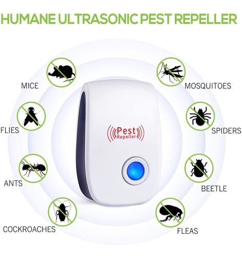 Ultrasonico Repelente Electrico Ahuyenta Mosquitos Cucaracha