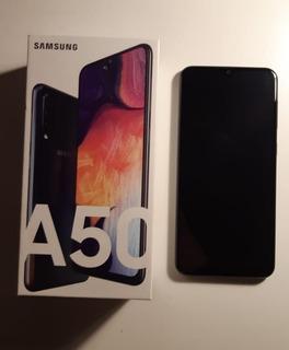 Samsung A50 128gb + 2 Fundas