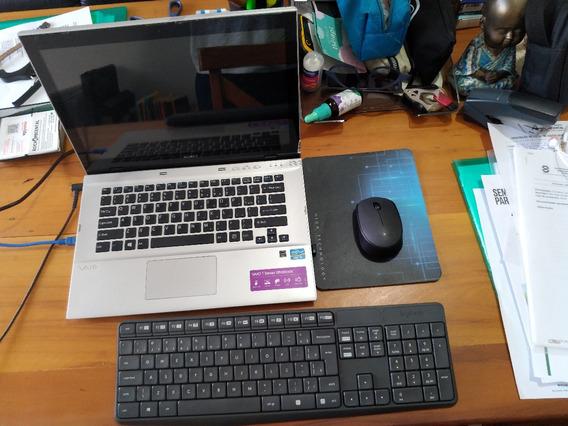 Notebook Sony Vaio Ultrabook Svt14126cxs C/ Teclado E Mouse