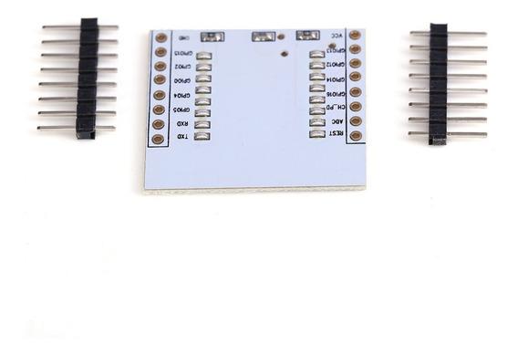 Módulo Adaptador Conector Solda Esp8266 Esp07 Esp08 Esp12e