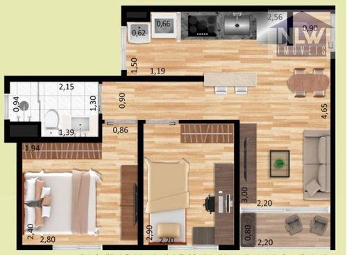 Imagem 1 de 8 de Apartamento Com 2 Dormitórios À Venda, 42 M² Por R$ 240.000,00 - Sacomã - São Paulo/sp - Ap3748
