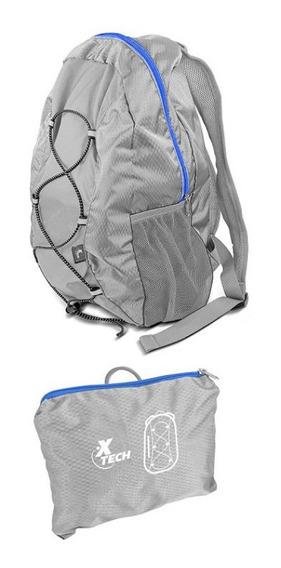 Mochila Xtech Plegable Nylon Impermeable Xtb-090bk Altavista