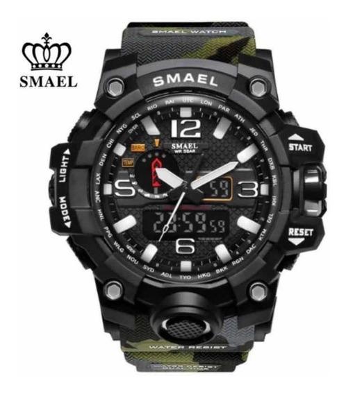 Relógio Masculino Original Smael Esportivo Militar