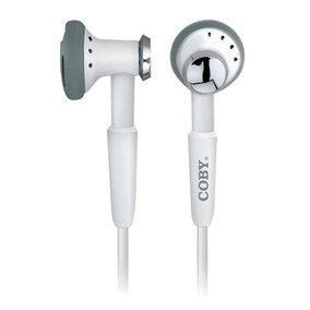 Fone Intra Auricular Suporte Pescoço E Conector Estéreo Coby