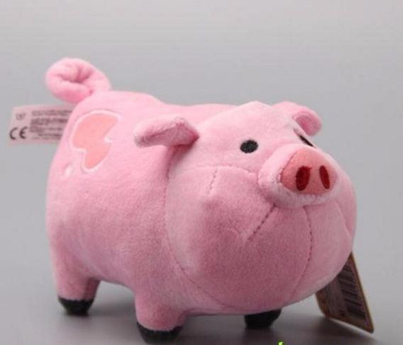 Porquinho De Pelucia Lindo Presente Rosa Porco