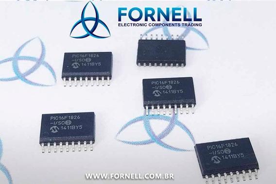 Microcontrolador Pic16f1826-i/so Microchip Smd
